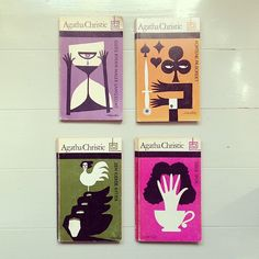Vintage Agatha Christie covers