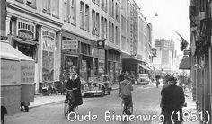 Rotterdam - Oude Binnenweg, 1951