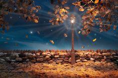 Imagem: 'Flocos de outono' (© Carl Warner)