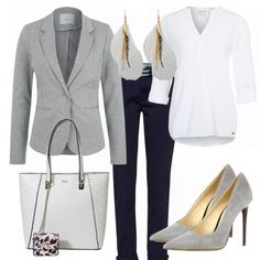 Business Outfits: Greylover bei FrauenOutfits.de #fashion #fashionista #inspiration #mode #kleidung #bekleidung #damen #frauen #damenkleidung #frühling #frühjahr #frauenoutfits #damenoutfits #outfit