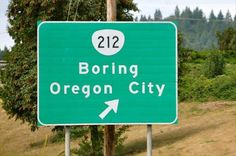 oregon-boring-city funny pictures with captions Town pictures Names funny Bizarre