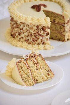 Italian Cream Cake with Cream Cheese Frosting (8)