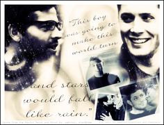 #DESTIEL Quote from the fanfic Twist & Shout Edit by https://www.facebook.com/frecklesandfeathers
