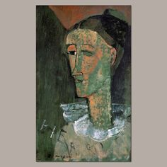 'Pierrot'. (by Amedeu Modigliani).