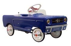 1965 Blue Classic Mustang Pedal Car Toy