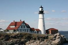 Portland Headlight has incredible views and is the most photographed lighthouse in the country! #VolvoJoyRide