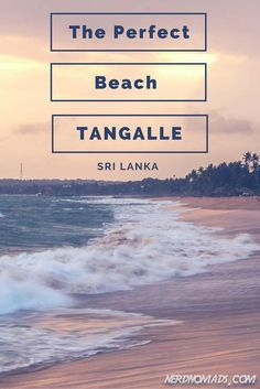 Looking for THE perfect beach? This may very well be it - Tangalla, Sri Lanka.