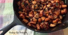 Sweet Potato, Apple & Pancetta Hash - Gutsy By Nature - gutsybynature.com - #paleo #aipaleo