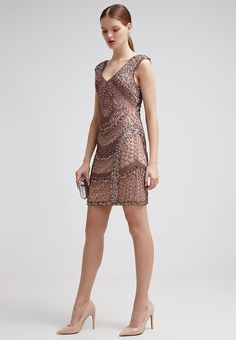 Miss Selfridge FAN - Freizeitkleid - metallic - Zalando.de