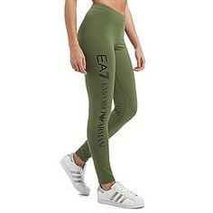 513b0beacb4 Emporio Armani EA7 Leggings Women's Leggings, Running Leggings, Jd Sports,  Great Women,