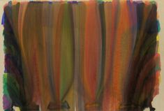 Saraband by Morris Louis, 1959, Guggenheim Museum Solomon R. Guggenheim Museum, New York © Morris Louis Medium: Acrylic resin on canvas