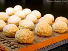Ready-To-Fill Craquelin Choux Puffs - Meilleur du Chef