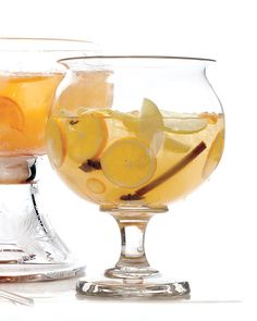 You don't have to give up your sangria sipping after the summer months. This batch brings autumnal ingredients like honey, lemon zest and juice, star anise, cinnamon sticks, and cloves together into the same serving bowl.