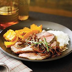 Ribs with Roasted Baby Carrots and Cipollini Onions | Recipe | Roasted ...
