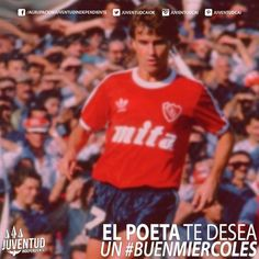 uenos días diablos!! #BuenMiercoles!! #ElPoeta, #RubenInsua, #IdolosIndependiente