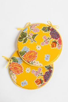 Oilcloth Chair Cushions. #urbanoutfitters