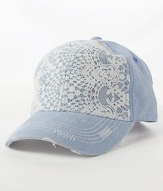Lace Overlay Hat | Buckle