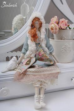 Купить Кукла в стиле Тильда Софи - кукла ручной работы, кукла, кукла в подарок