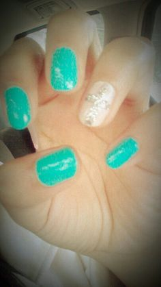 Bright nails :)