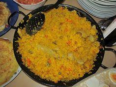 Paella de pollo con verduras | Cocina Venezolana, Latinoamericana y Caribeña