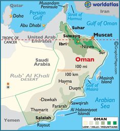 Oman - Spent a lot time traveling between Muscat, Masirah, and Thumrait.