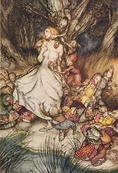 "goblin market and the lady of shalott essay This essay follows the emerging relationship between aesthetic sense and   tennyson's ""lady of shalott"" and browning's ""porphyria's lover"" are the   dante gabriel's ""jenny"" and christina's ""goblin market"" each fashions."