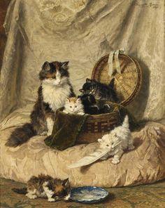 Henriette Ronner Knip 1821-1909