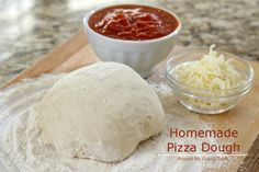 The best (and easiest) Homemade Pizza Dough