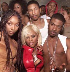 .Brandy Lil Kim Ray J Pharelle