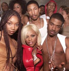 .Brandy Lil Kim Ray J Pharelle
