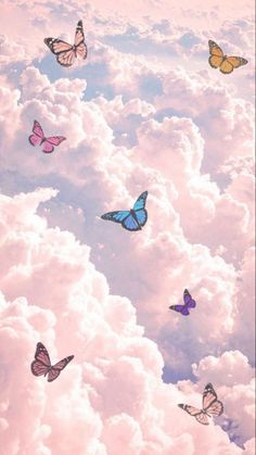 Wallpaper Pastel, Butterfly Wallpaper Iphone, Trippy Wallpaper, Cartoon Wallpaper Iphone, Iphone Wallpaper Tumblr Aesthetic, Cute Patterns Wallpaper, Iphone Background Wallpaper, Aesthetic Pastel Wallpaper, Tumblr Wallpaper