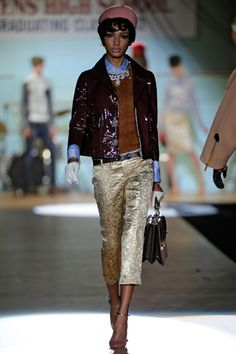 D Squared runway show   fall-winter 2012