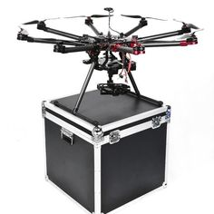 SkyhawkRC 9CH professional drone 2.4Ghz Carbon fiber octocopter multirotor Drone with Camera and GPS