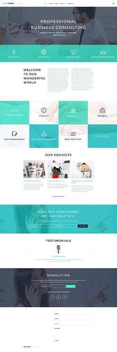 Professional Business Consulting #Wordpress #template. #themes #business…