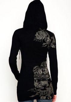 <3 Long sleeve black hoodie shirt. Love it!