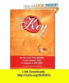 The key. La chiave (9788880936060) joe vitale, isbn-10.