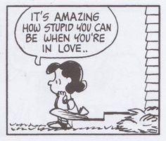Being in love…