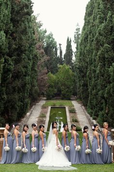 wedding party by Kim Le Photography