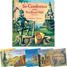 Sir Cumference - great math stories