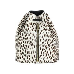 - The Cut - Elizabeth and James Abstract Animal-Print Calf Hair Sling Backpack, $545 Saks Fifth Avenue