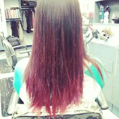 hair with color