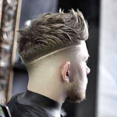 35 Best Men's Textured Haircuts , # Short Textured Hair, Textured Haircut, Mens Haircuts Short Hair, Cool Haircuts, Hot Hair Styles, Hair And Beard Styles, Shaved Hair Designs, Faded Hair, Hair Trends