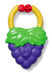 Infantino Vibrating Grape Teether. Available at OurPamperedHome.com