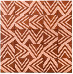 Tribal // Brasiliana: Wood Tile That Explores Periods of Brazilian History by designer Renata Rubim partnered with Oca Brasil