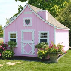 Little Cottage 8 x 12 Gingerbread Wood Playhouse - Outdoor Playhouses at Play Houses love the dutch door