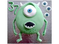 "Monsters Inc. ""Mikey"" Sponge Cake"