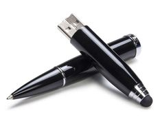 Tech-Savvy Writing Tools; pen, tablet writer and flash drive, all in one! Cool!