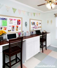 Craft Room Color - by @nestforless