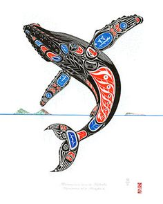 NW Coastal ArtYou can find Haida art and more on our website. Haida Kunst, Inuit Kunst, Arte Inuit, Haida Art, Inuit Art, Haida Tattoo, 1 Tattoo, Native Canadian, Canadian Art
