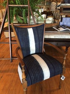 re upholster chairs... love this